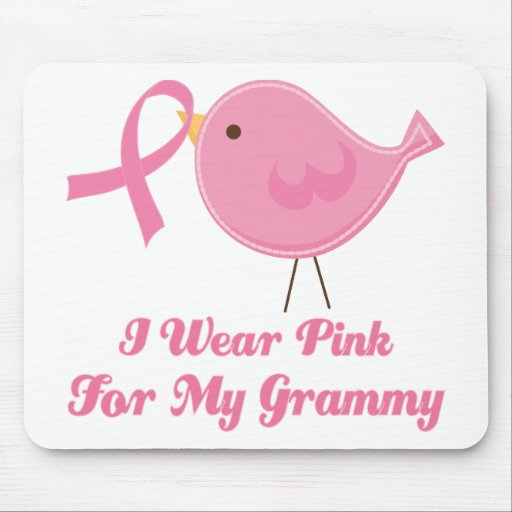 I Wear Pink For My Grammy Mouse Pad