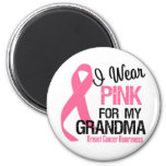 I Wear Pink For My Grandma 2 Inch Round Magnet