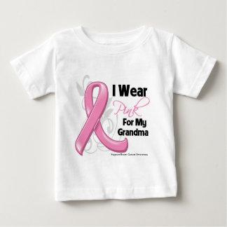 I Wear Pink For My Grandma - Breast Cancer T-shirt