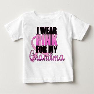 I Wear Pink for My Grandma - Breast Cancer Tshirts