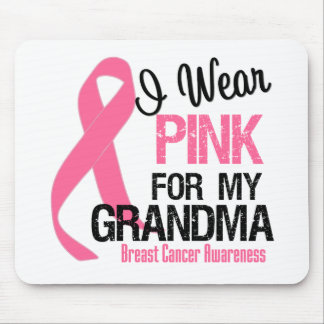 I Wear Pink For My Grandma Mouse Pad