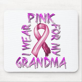I Wear Pink for my Grandma.png Mouse Pad