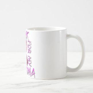 I Wear Pink for my Grandma.png Classic White Coffee Mug