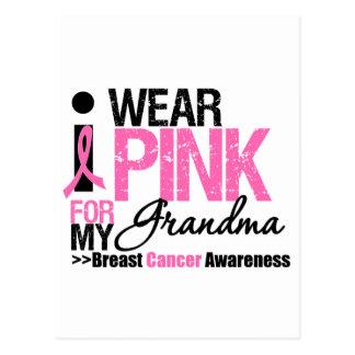 I Wear Pink For My Grandma Post Card