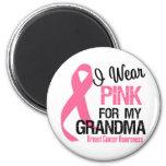 I Wear Pink For My Grandma Refrigerator Magnets