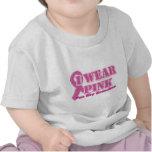 I wear pink for my grandma shirts