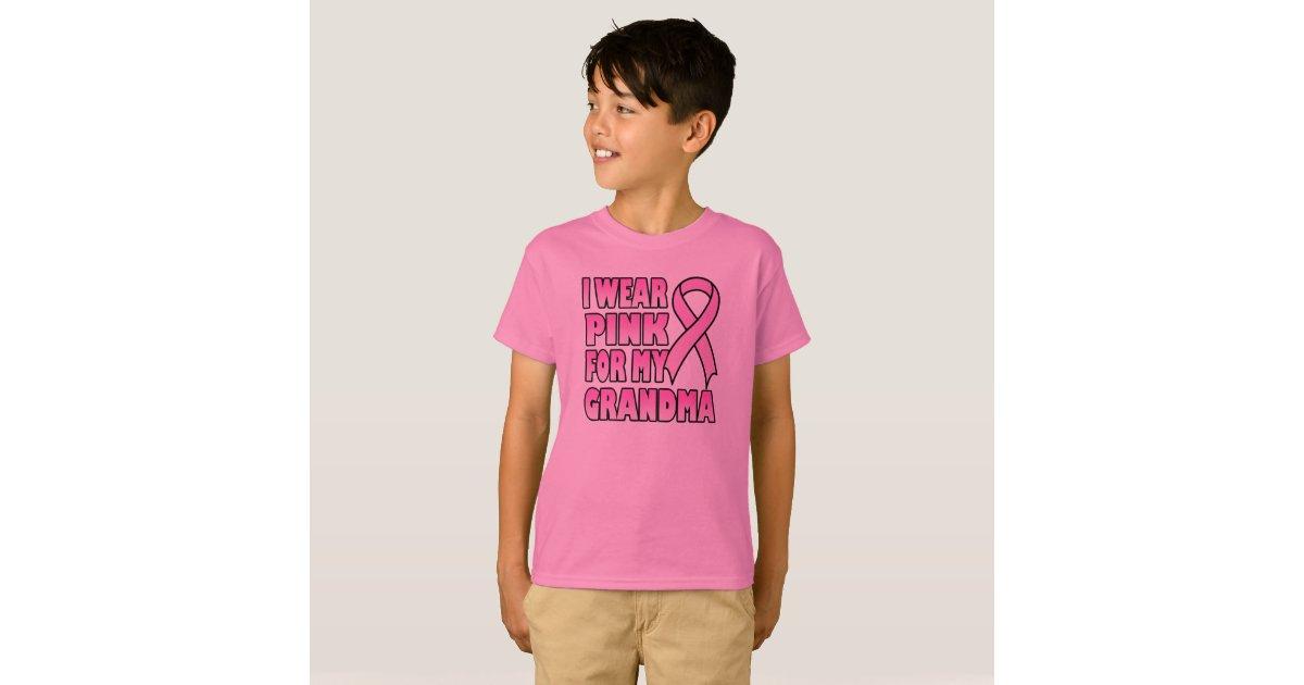 I wear pink for my grandma t shirt zazzle for Wear my t shirt