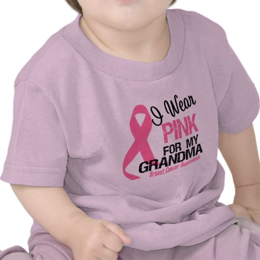 I Wear Pink For My Grandma T-shirts