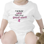 I Wear Pink for My Great Aunt ($18.95) Tshirts