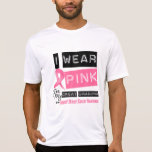 I Wear Pink For My Great Grandma Breast Cancer Tshirt
