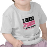 I Wear Pink For My Great Grandma Breast Cancer T-shirts