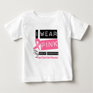 I Wear Pink For My Great Grandma Breast Cancer Shirt