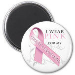 I Wear Pink for my Great Grandma Refrigerator Magnets