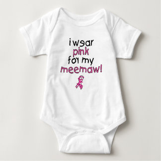 I Wear Pink for My MeeMaw ($18.95) Shirts