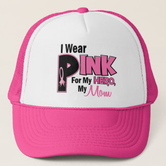 I Wear Pink For My Mom 19 Trucker Hat