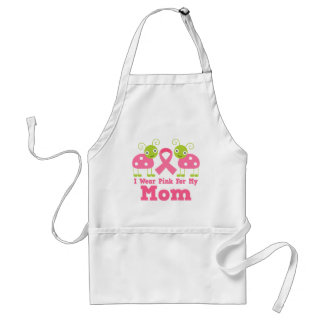 I Wear Pink For My Mom Adult Apron