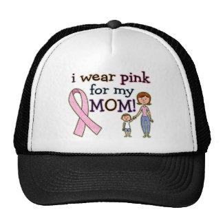 I Wear Pink for My Mom Kids Boys Trucker Hat