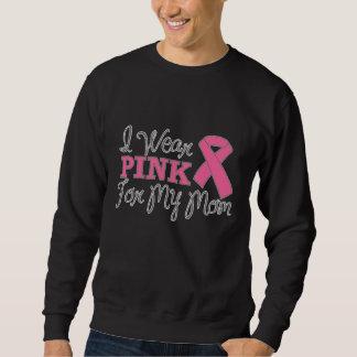 I Wear Pink For My Mom (Pink Ribbon Version C) Sweatshirt