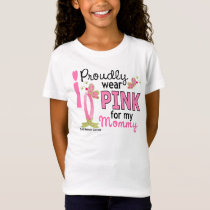 I Wear Pink For My Mommy 27 Breast Cancer T-Shirt