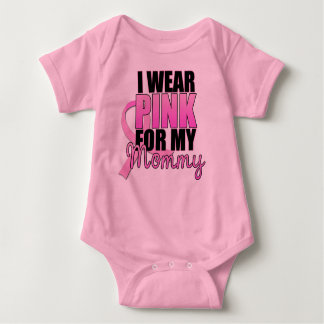 I Wear Pink for My Mommy Infant T-shirt