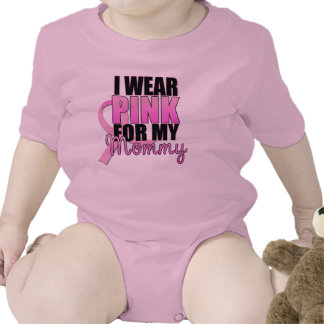 I Wear Pink for My Mommy Infant Tshirts