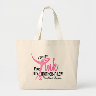 I Wear Pink For My Mother-In-Law 41 Tote Bags