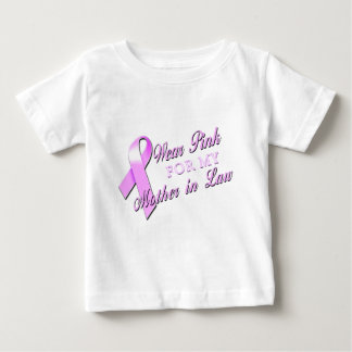 I Wear Pink for my Mother in Law.png Baby T-Shirt