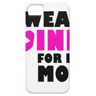 i wear pink for my mother iPhone SE/5/5s case