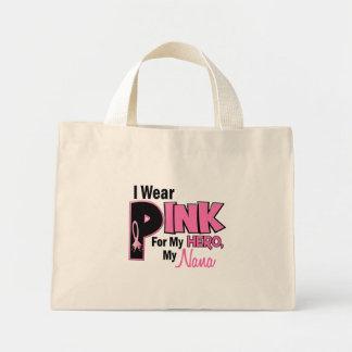 I Wear Pink For My Nana 19 BREAST CANCER Mini Tote Bag