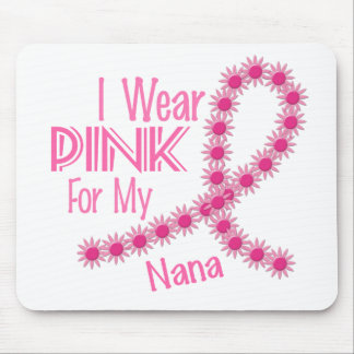 I Wear Pink For My Nana 26 BREAST CANCER Mouse Mats