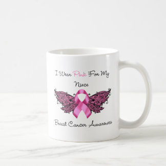 I Wear Pink For My Niece Mugs