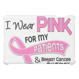 I Wear Pink For My Patients 42 Breast Cancer iPad Mini Covers