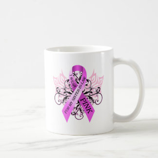I Wear Pink for my Sister in Law.png Classic White Coffee Mug