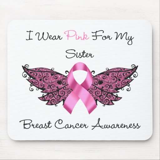I Wear Pink For My Sister... Mouse Pad