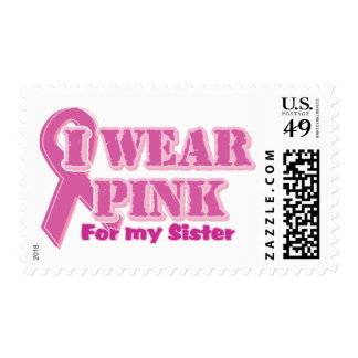 I wear pink for my sister postage
