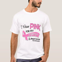 I Wear Pink For My Stepmom 42 Breast Cancer T-Shirt