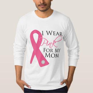 I Wear Pink Mom Breast Cancer T-Shirt