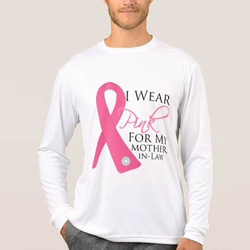 I Wear Pink Mother-in-Law Breast Cancer Shirt