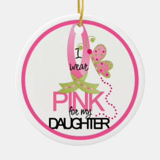 I wear Pink Ornament