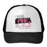 I Wear Pink Ribbon For My Aunt Breast Cancer Trucker Hat