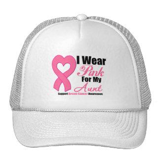 I Wear Pink Ribbon For My Aunt Trucker Hat