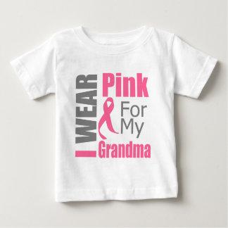 I Wear Pink Ribbon For My Grandma BREAST CANCER Infant T-shirt
