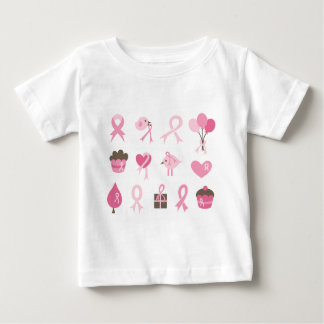 I Wear Pink Ribbon Tee Shirt