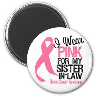 I Wear Pink Sister-in-Law Magnet