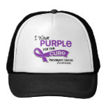 I Wear Purple 42 Cure Pancreatic Cancer Hat