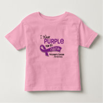 I Wear Purple 42 Nana Pancreatic Cancer Toddler T-shirt