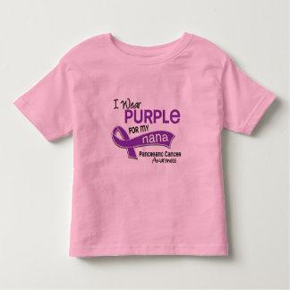 I Wear Purple 42 Nana Pancreatic Cancer Toddler T-shirt