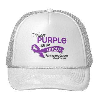 I Wear Purple 42 Uncle Pancreatic Cancer Mesh Hats