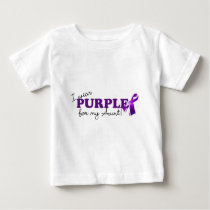 I Wear Purple Baby T-Shirt