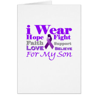 I Wear Purple (Epilepsy) for My Son Products Card